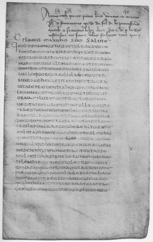 Pliny the Younger : Letters